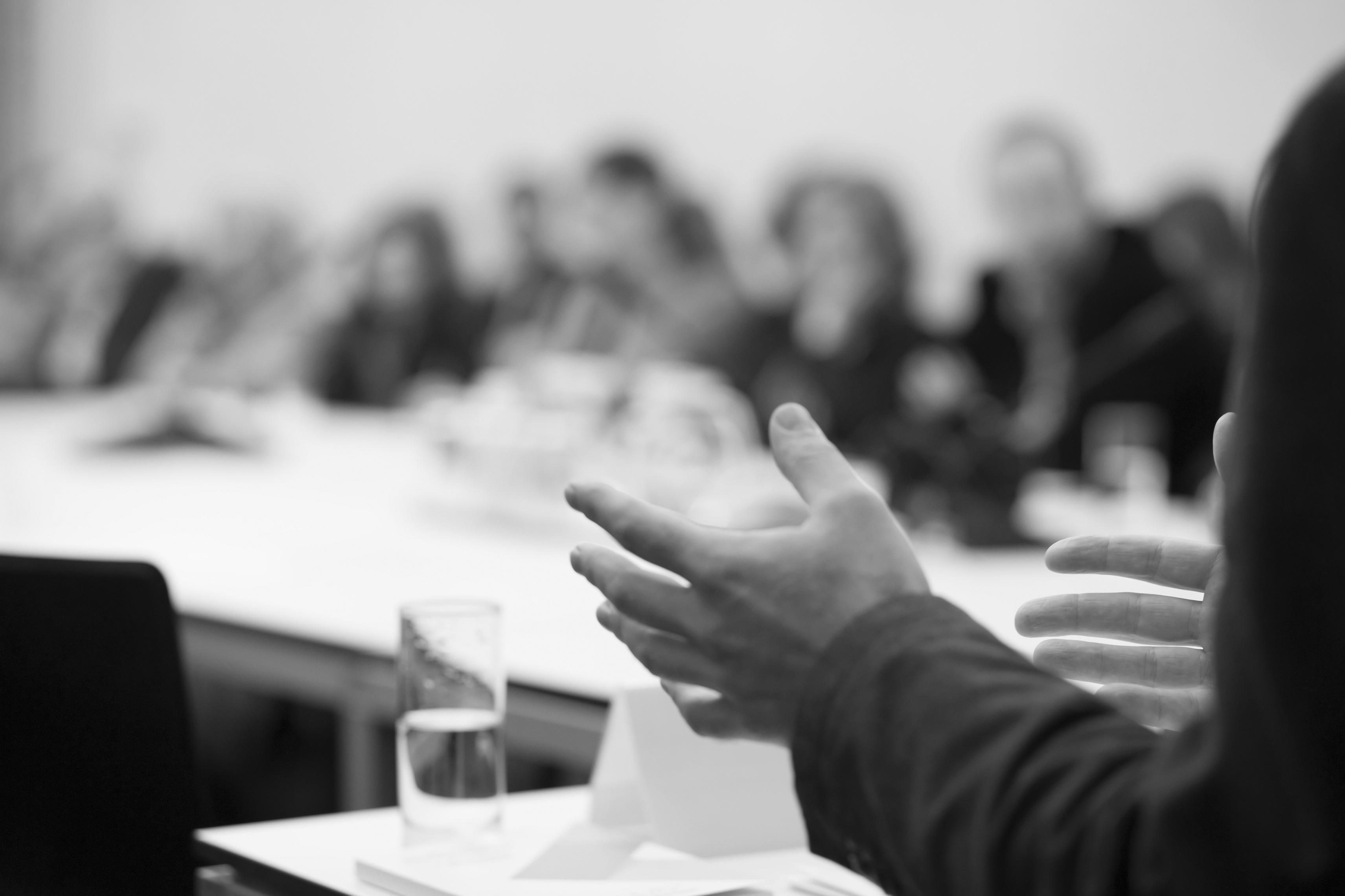 Balancefirst Präsentation auf Seminar